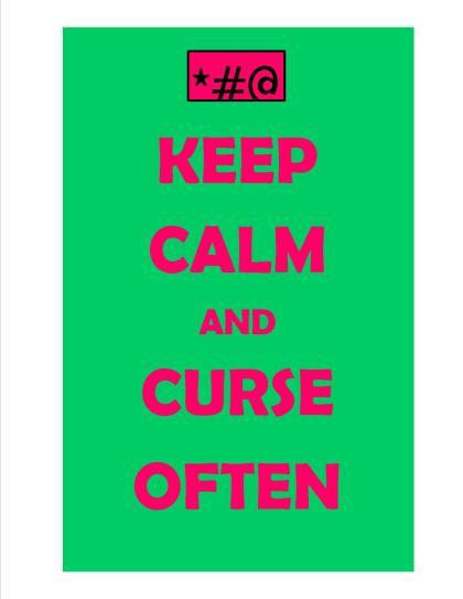curse often