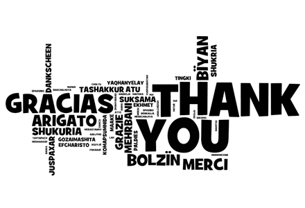 WordPress-Donations-thank-you-note-in-every-language-flickr-creative-commons-440x300